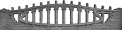 Карпатский камень арка еврозабора