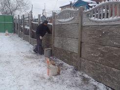 Установка еврозабора Харьков Бета-Строй Фото 11