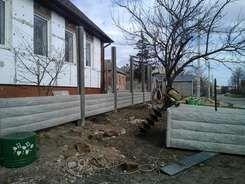 Установка еврозабора Харьков Бета-Строй Фото 12